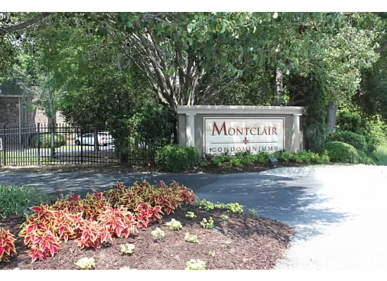 Entrance to Montclair Community in Mount Pleasant