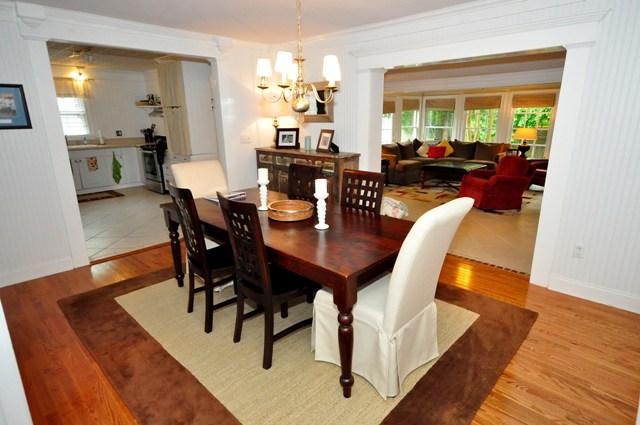 Dining Room at 838 North Shem